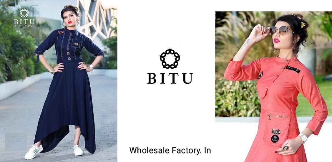 Bitu Kurti-WholesaleFactory.in